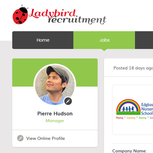 Ladybird Recruitment- Online Profile