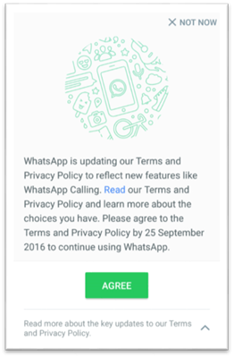 Whatsapp - Terms and Conditions
