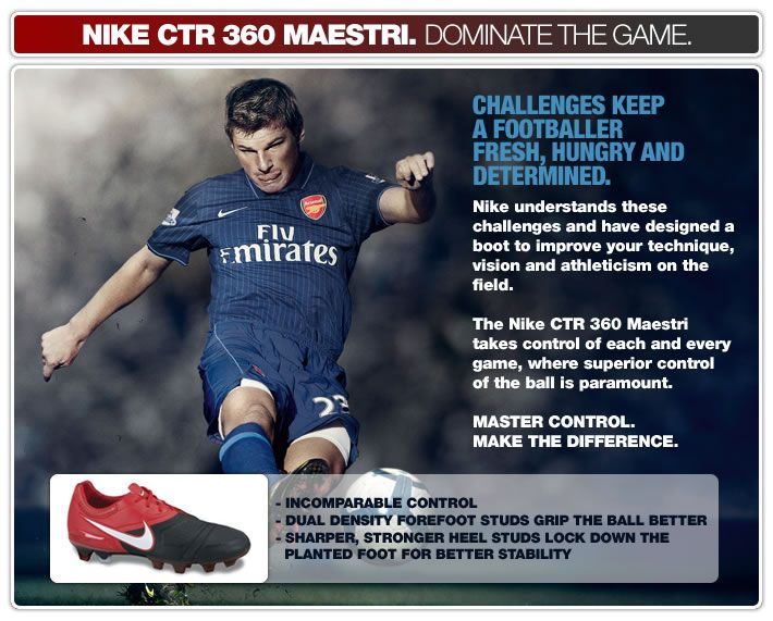 NIKE CTR 360 MAESTRI - DOMINATE THE GAME
