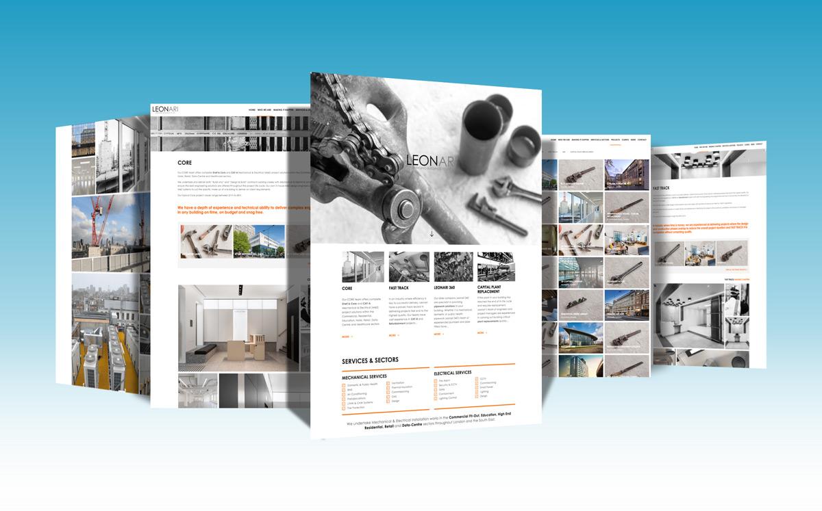 Leonari - WordPress Web Design
